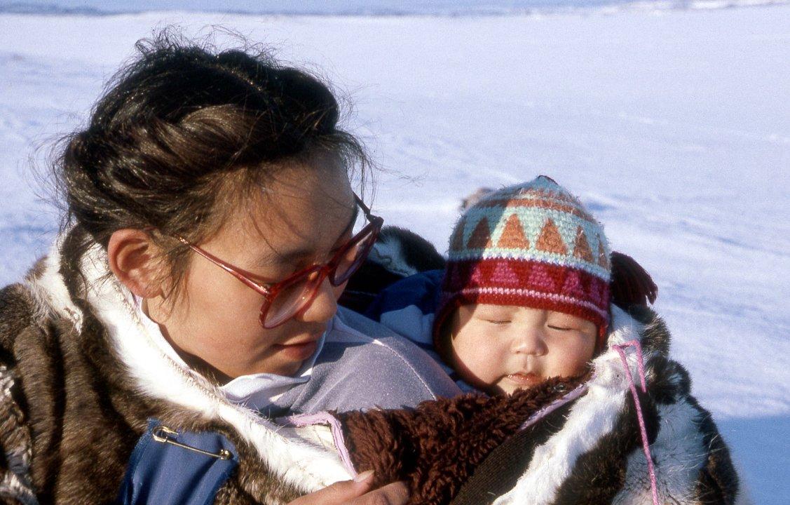 iii1 inuit clothingshelter 1 winter clothing people