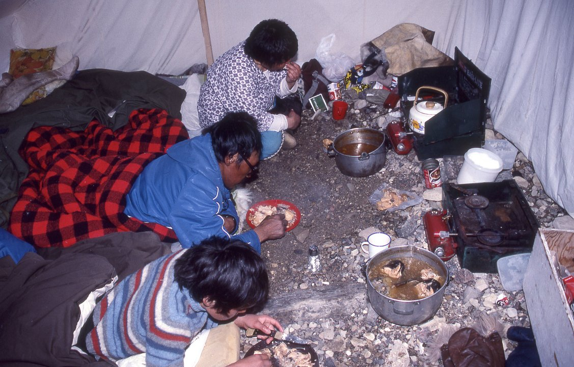 III.4: INUIT CLOTHING/SHELTER 4. Summer Shelters ~ People ...