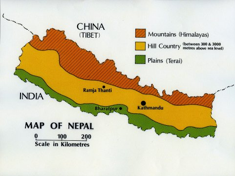 01 nepal landforms it is also positioned at the point where the two countries with the largest populations in the world come together one a democracy india gumiabroncs Images
